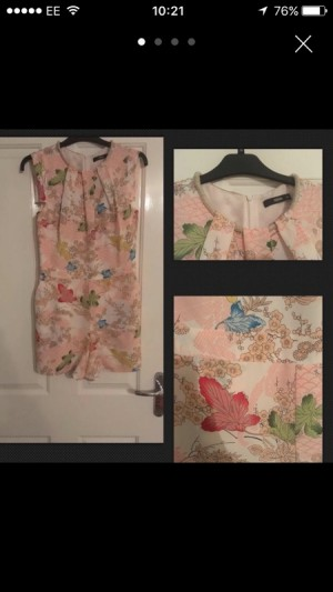 oasis size 10 playsuit