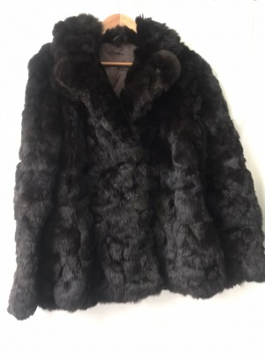 Stunning Vintage Genuine Cony Fur Jacket