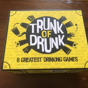 Gutter Games 55034 Trunk of Drunk 8 Drinking Games Fun Family Party Fu
