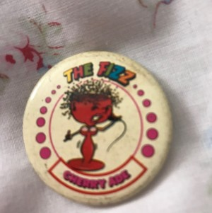 The fizz Pin badge