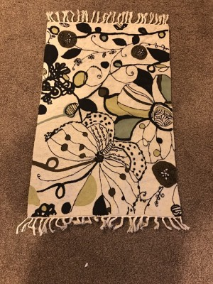 Brand new rug handcrafted