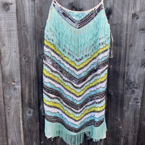 Zara Mini Party Dress with sequins and tassels