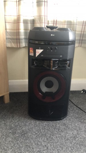 LG xboom OK55 BOUGHT FOR £300 from curry's and selling for £150
