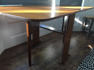 collapsible dining table