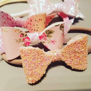 Bows headbands or clips