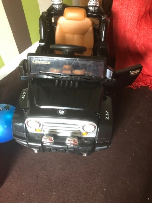 Good condition works perfect Comes with charger lights all work fine i