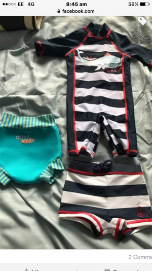 Happy nappy, shorts and sun suit 3-6 months