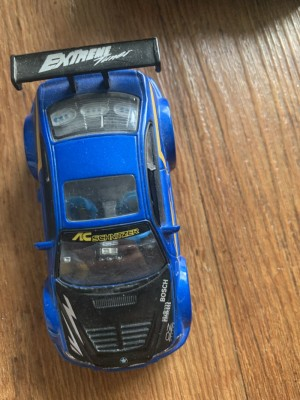 Extreme toy car blue