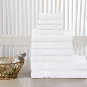 TERRY 100% COTTON 400 GSM TOWELS 10 PIECE BALE