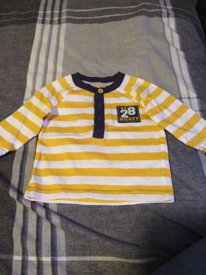 Baby Boys Long Sleeved Disney Top - Aged 0-3 Months