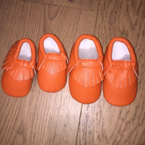 Brand New Baby Moccasins 3-6 months and 9-18 months