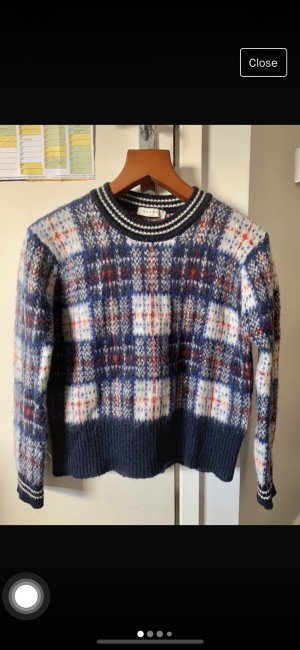 Sandro - mohair sweater size S