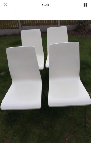 6 John Lewis chairs, really good condition