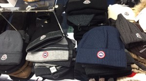 Canada goose hats and gloves