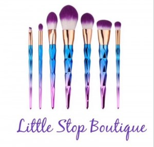 7pc makeup brush