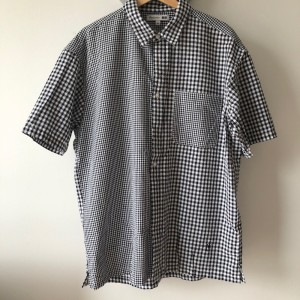 Uniqlo x JW Anderson seer sucker short sleeve shirts L