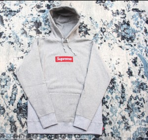 Supreme Box Logo Hoodie grey - Small (unwanted Gift)