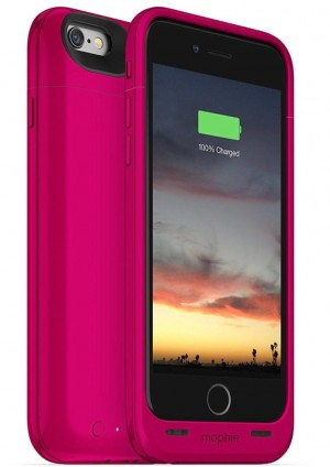 MOPHIE Hot Pink iPhone 6/6S Juice Pack Air 100% extra battery phone case iPhone Brand New