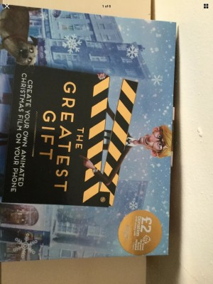 The Greatest Gift - Create Your Own Animated Christmas Film Sainsbury