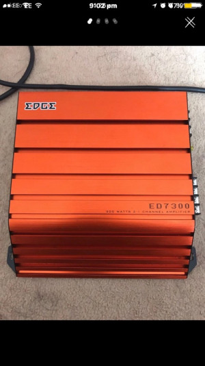 Edge ED700  300 watt amplifier channel 2/1 -£20