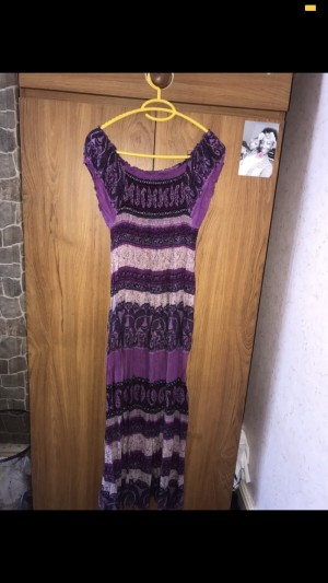 Purple Maxi Dress. Size 8/10