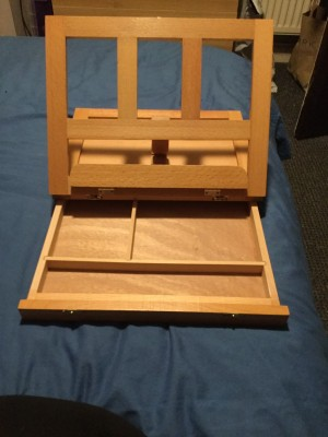 Handheld Sketch Board With Stand & Draw