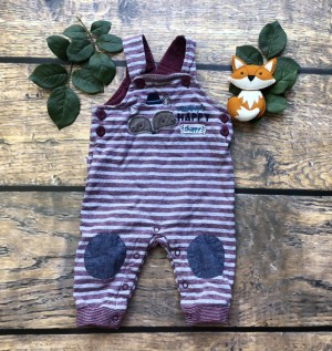 Baby boys dungarees 6-9m
