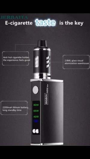 Vape 80 W vape pen full MOD kit with extra coil