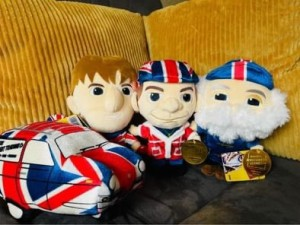 COLLECTORS EDITION Only fools and horses plush