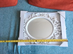 Antique French Wall Mirror Decorative Ornate