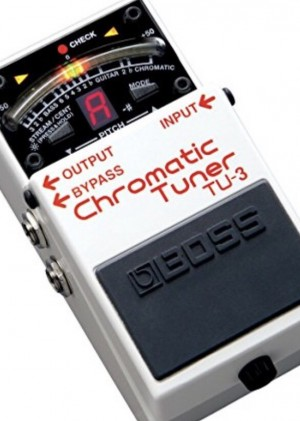 Boss Chromatic tuner £30. No charger