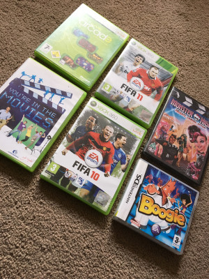 Xbox 360 Games, Nintendo Ds game, DVD