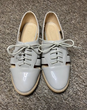 Size 4 grey shoes