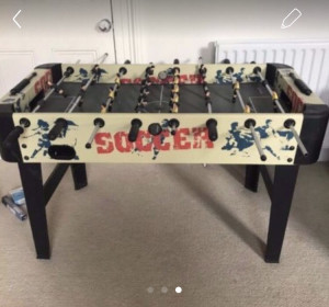 Fuseball table