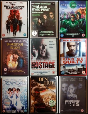 12 x DVDs  £6 * Acceptable * VGC * Excellent * As New * NEW * Sealed