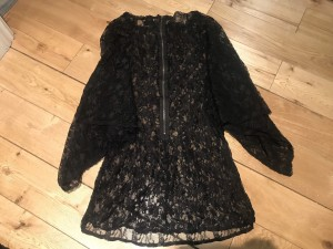 Topshop 8 Lace Dress Victorian Style Beautiful Chic