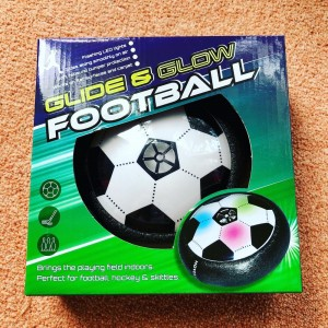 BNIB Glide And Glow Football Led Lights Indoor Fun Game Works On Flat