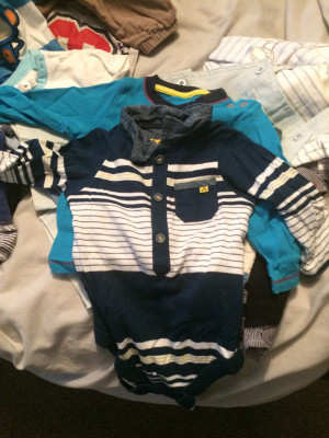 Baby boy bundle 0 to 12 months 109 items only worn once others brand new