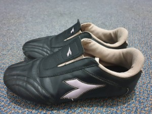 Black trainers womens size 4