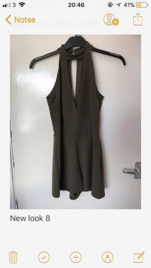 New Look Playsuit Size 8