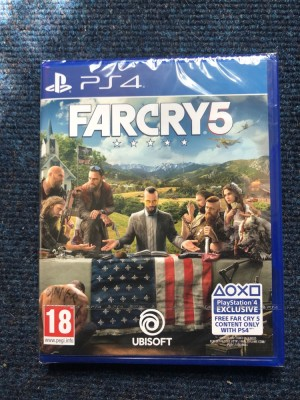 FAR CRY 5 PS4 BRAND NEW AND SEALED