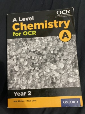 A level Chemistry OCR year 2