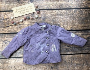 Next lilac thick jacket age 2-3 years