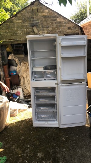 Indesit a class fridge freezer