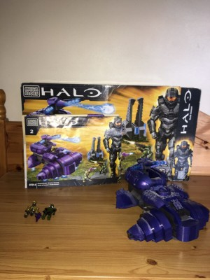HALO REACH LEGO, WRAITH, BOX AND INSTRUCTIONS INCLUDED. OPEN TO OFFERS