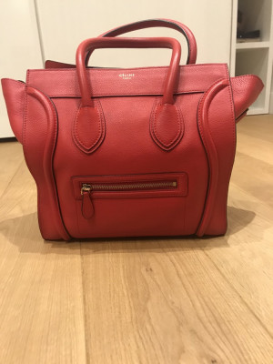 Red Celine bag - large has dust bag and is genuine