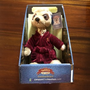 Aleksandr Meerkat New Box Certified Plush Toy Collectible