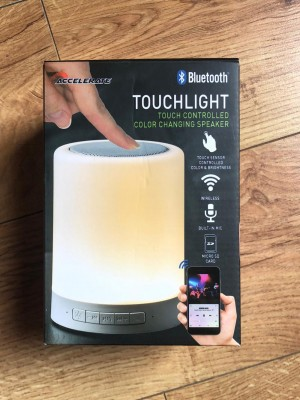 Accelerate Bluetooth Touchlight Speaker