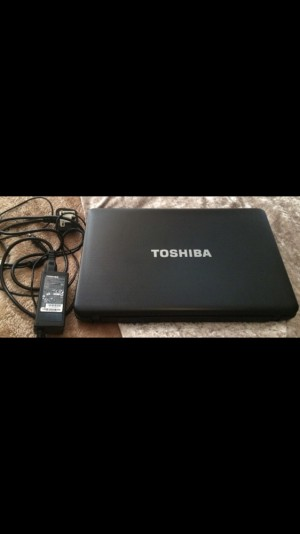 Toshiba laptop battery only lasts while on charge, excellent condition.