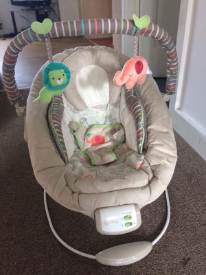 Baby bouncer £25-£30 hardly been used collection only